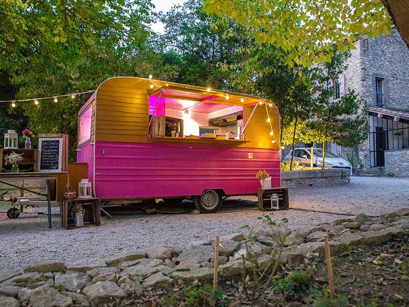 Roulotte Jesserault Annees 70 Vintage Mariage Food Truck