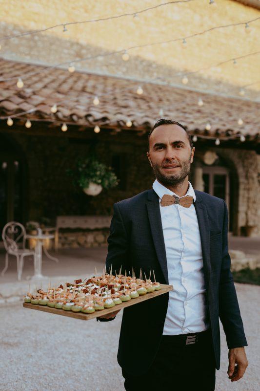 Service traiteur mariage réception événement domaine de Sarson caterer