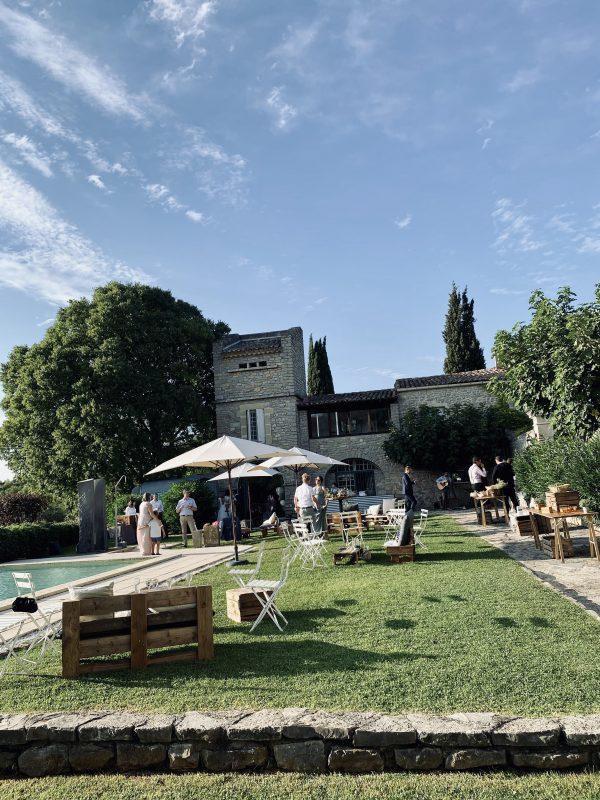 cocktail vin d'honneur repas mariage traiteur catering south of france réception domaine St Germain Montpellier Hérault