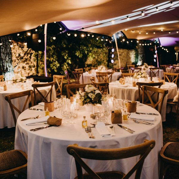 mariage traiteur catering food réception tente stretch south of France
